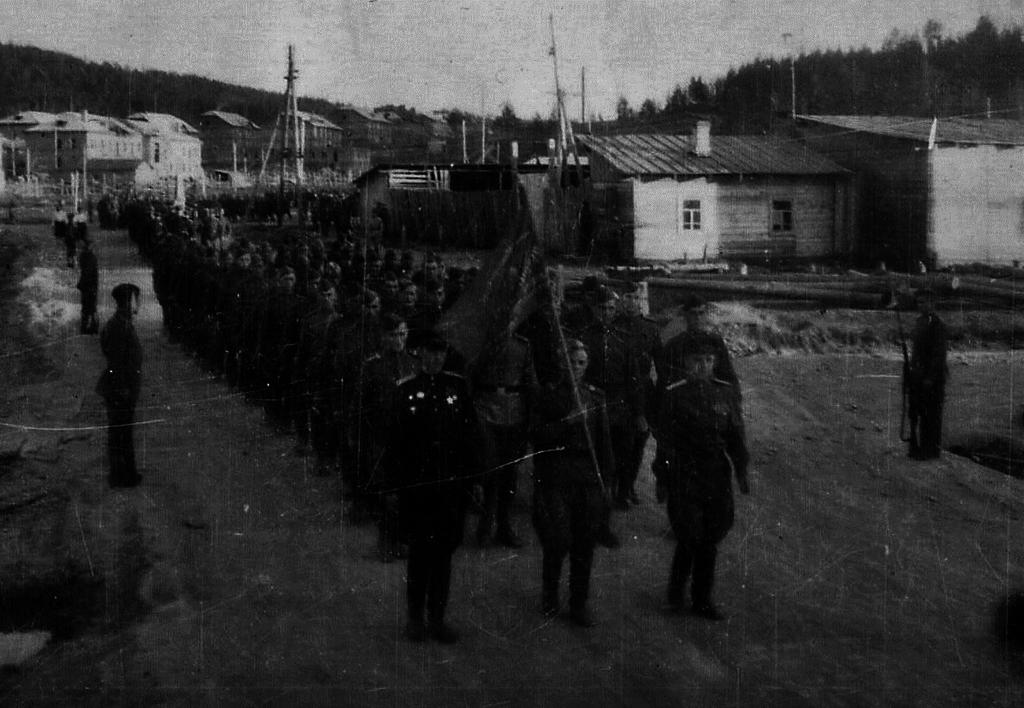 Первый военный парад 1947-й год.