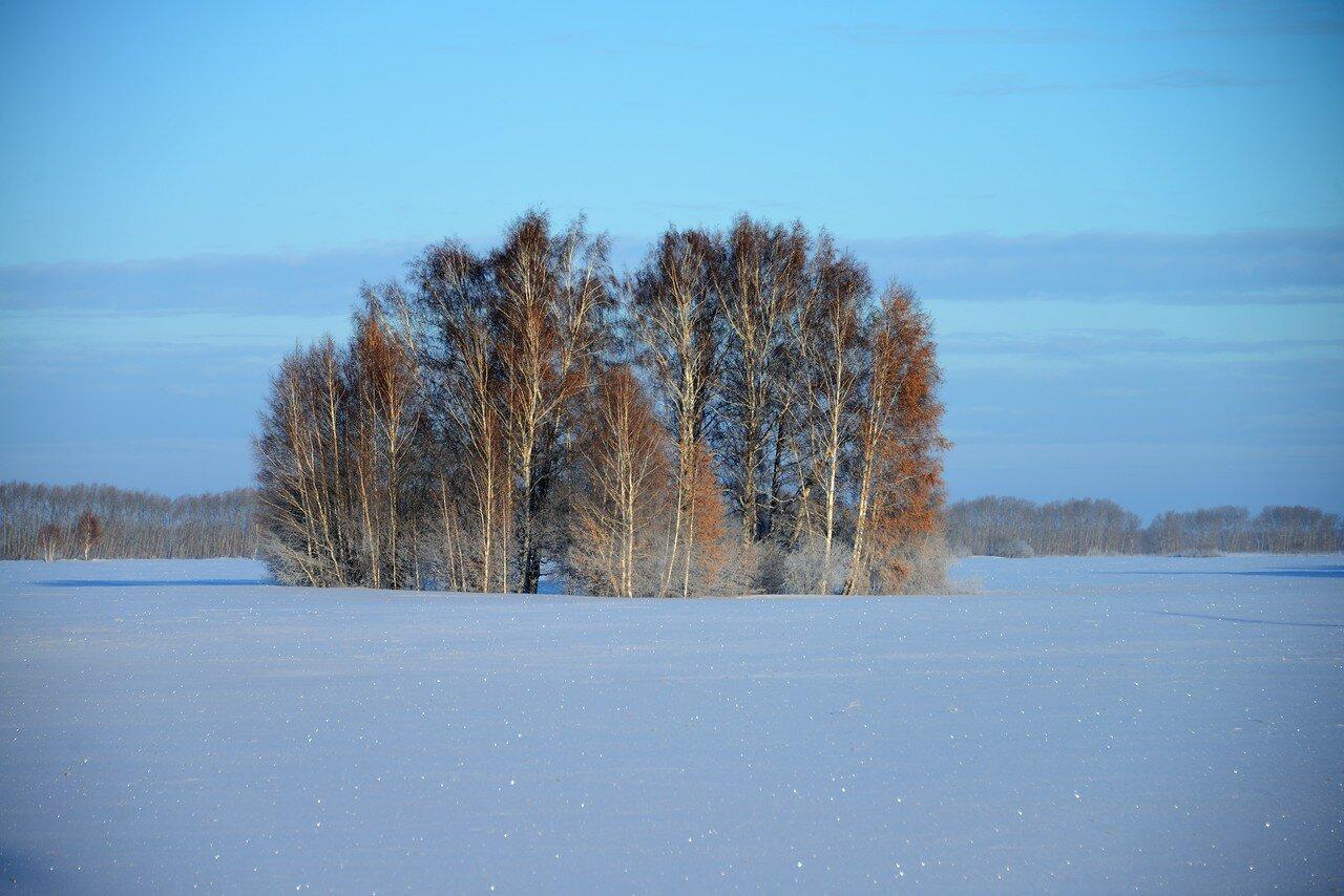 Зимняя дорога Иркутск-Новосибирск