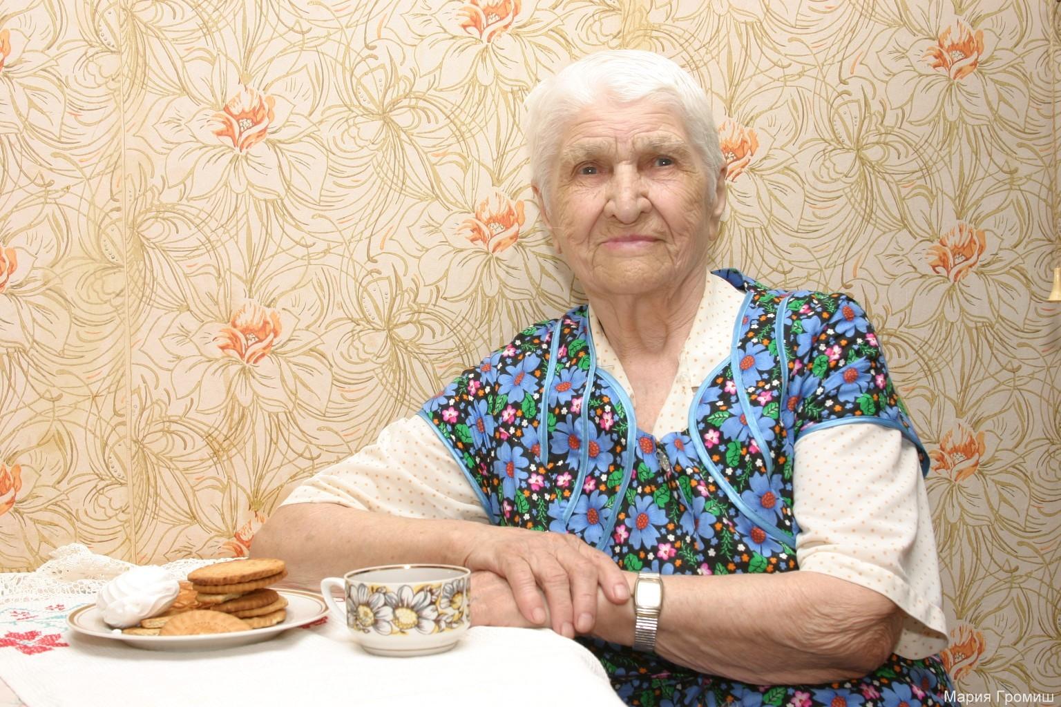 Моя бабуля - Климова Екатерина Егоровна