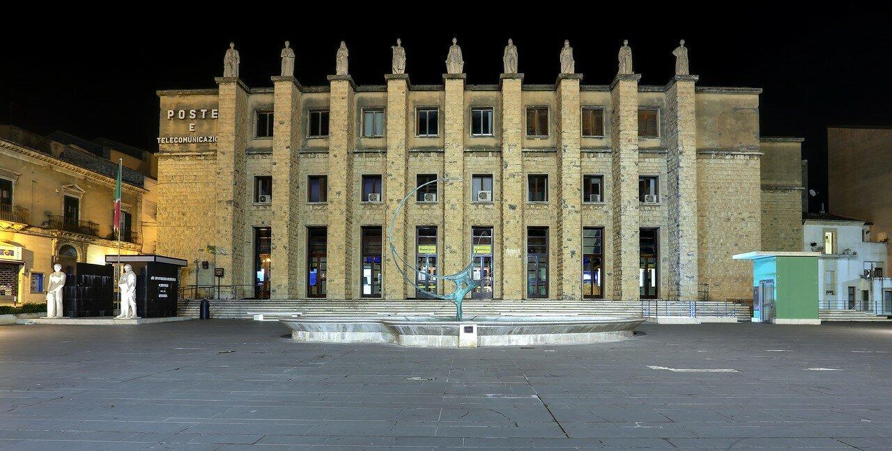 Ночная Рагуза. Площадь Маттеотти (Piazza Matteotti)