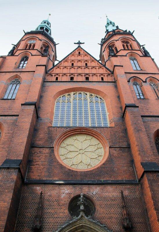 Легница. Кафедральный собор Петра и Павла (Katedra Swietych Apostolow Piotra i Pawla)