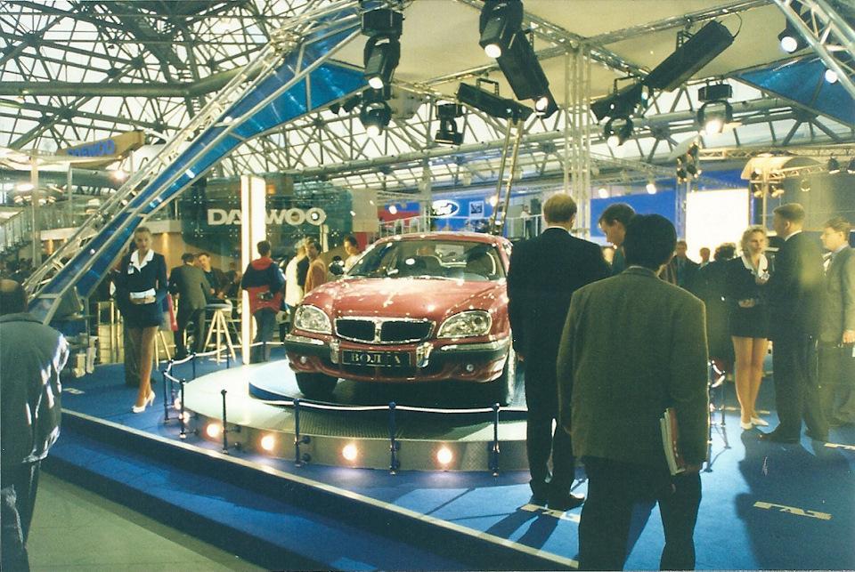 Новая переднеприводная Волга ГАЗ-3103. Кризис 1998 года убил этот современный проект ГАЗа. Да и впри