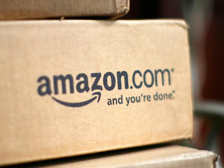 Эдинбург, Шотландия. Здесь склад Amazon занимает 93 000 кв.м. Это примерно 14 футбольных полей. (Фот