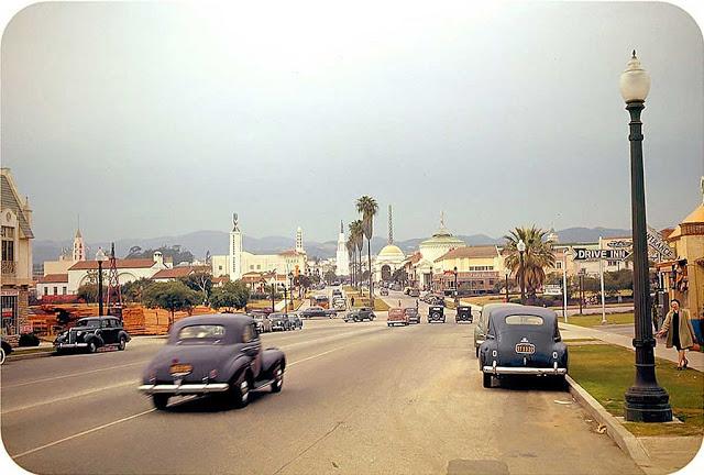 К северу бульвара Уэствуд, 1941 год.