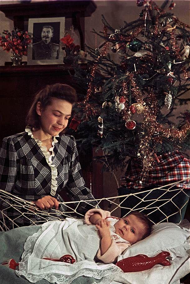 «Первый Новый год малыша», О. Кнорринг, 1951 год.