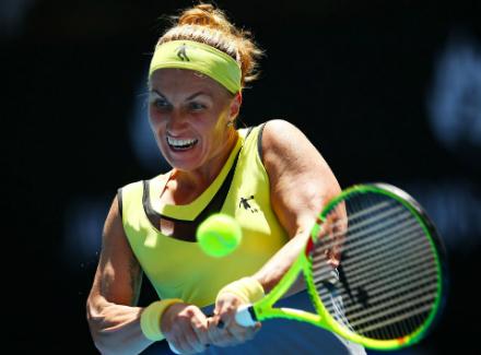 Анастасия Павлюченкова вышла вчетвертьфинал Australian Open