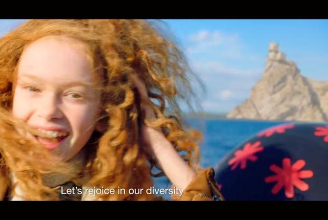 Украина вролике для «Евровидения-2017» похвасталась Крымом