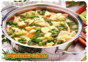 Суп с говяжьим рубцом по-польски