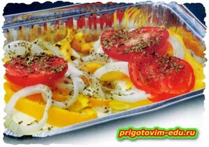 Красная рыба , запечённая с сыром