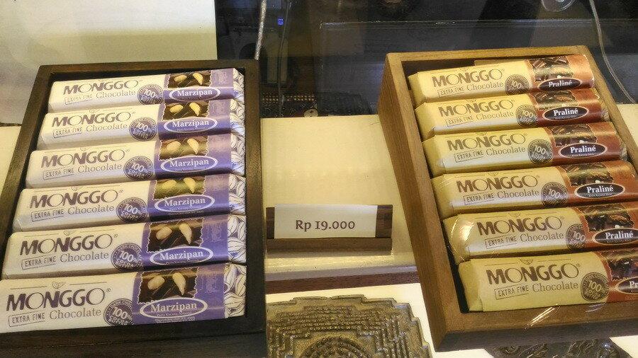 Шоколадки с начинками