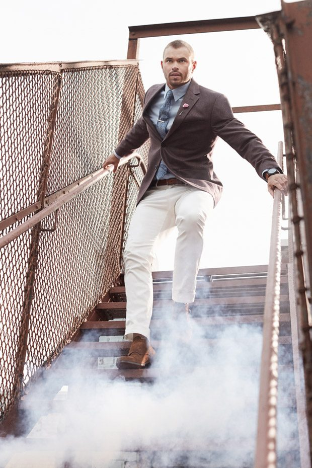 Kellan Lutz Stars in Geoffrey Beene Spring Summer 2017 Campaign