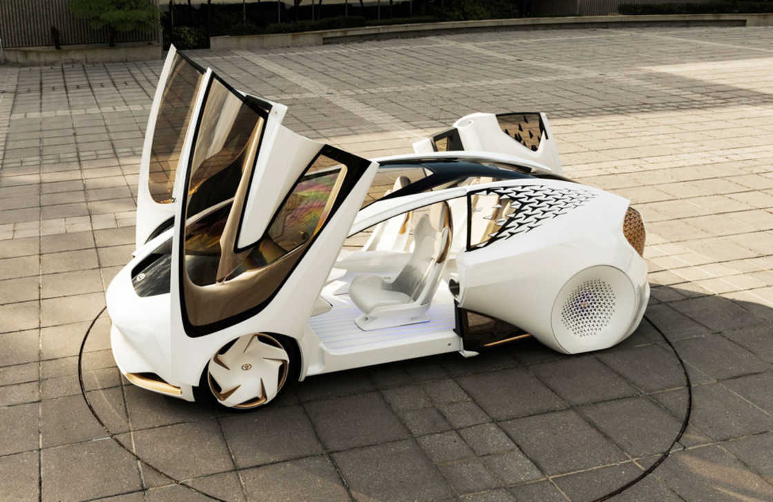 Concept-i – Toyota unveils a futuristic electric car for 2030 (22 pics)