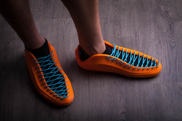 3D print your sneakers thanks to a new flexible filament?