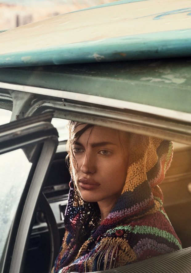 Supermodel Irina Shayk Stars in Vogue Brazil January 2017 Cover Story