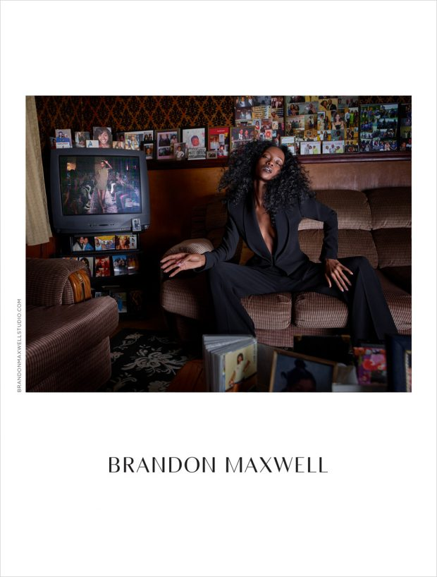 Riley Montana Models Brandon Maxwell Spring Summer 2017 Collection (3 pics)