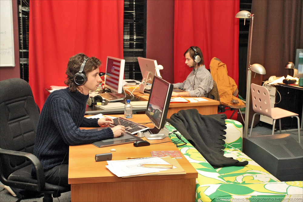 Студия Лебедева 2007