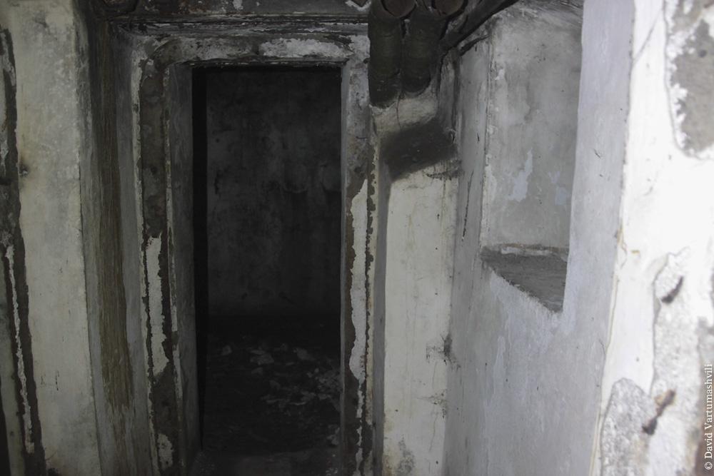 Ущелье реки Мачахела, орудие в Скурдиди