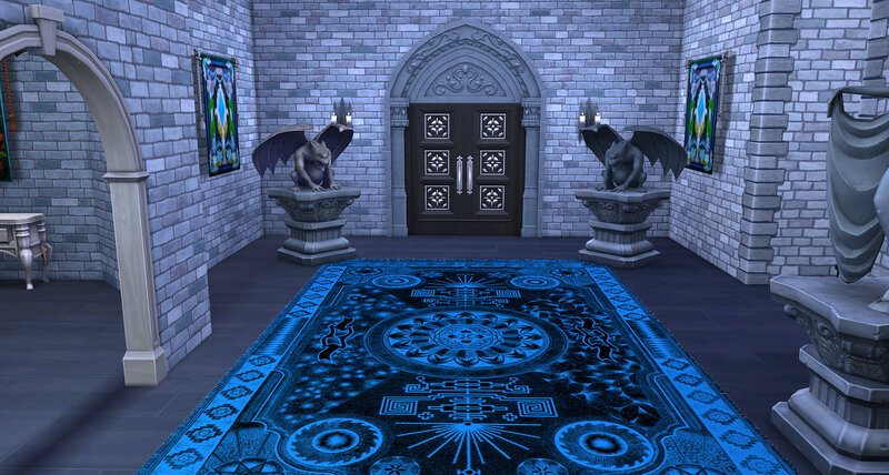 Gothic rugs by ihelen