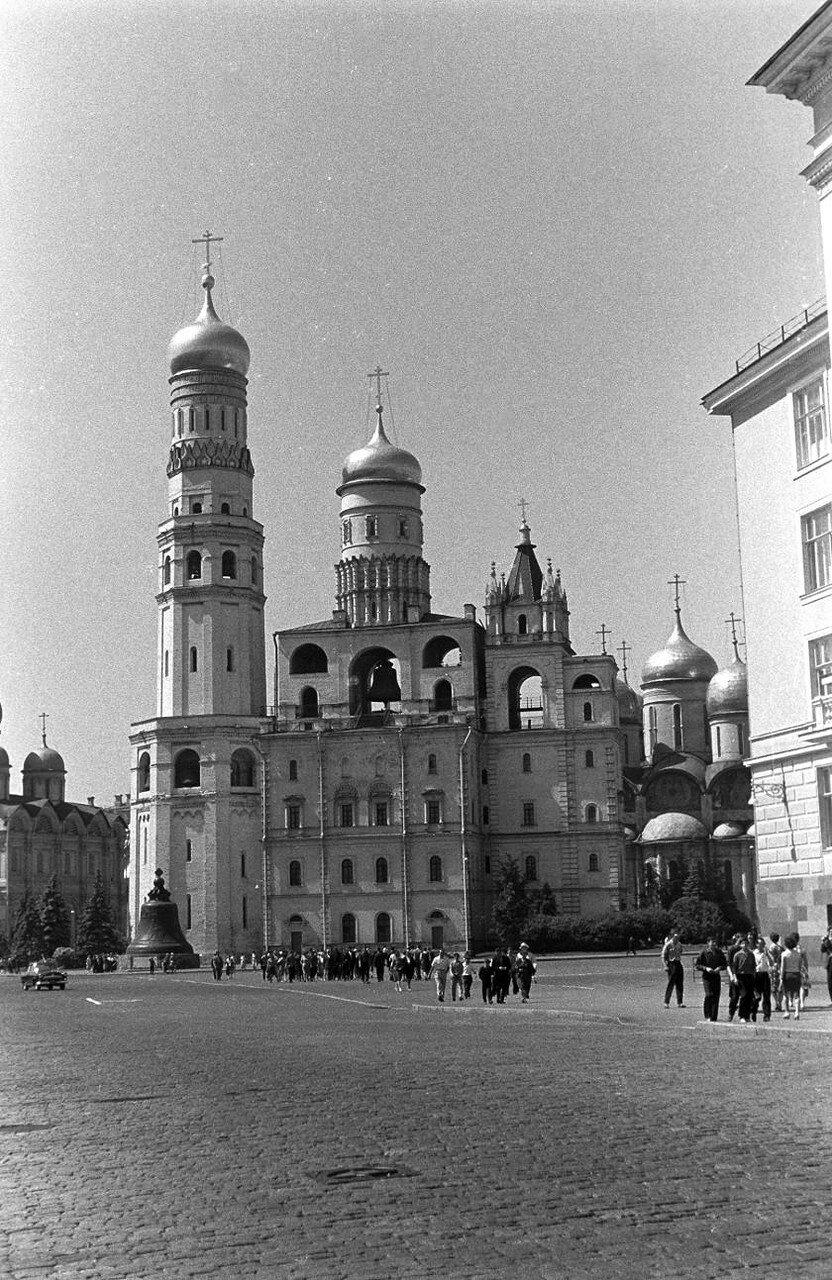Иван Великий. Foto: Manfred Uhlenhut. Июнь, 1964