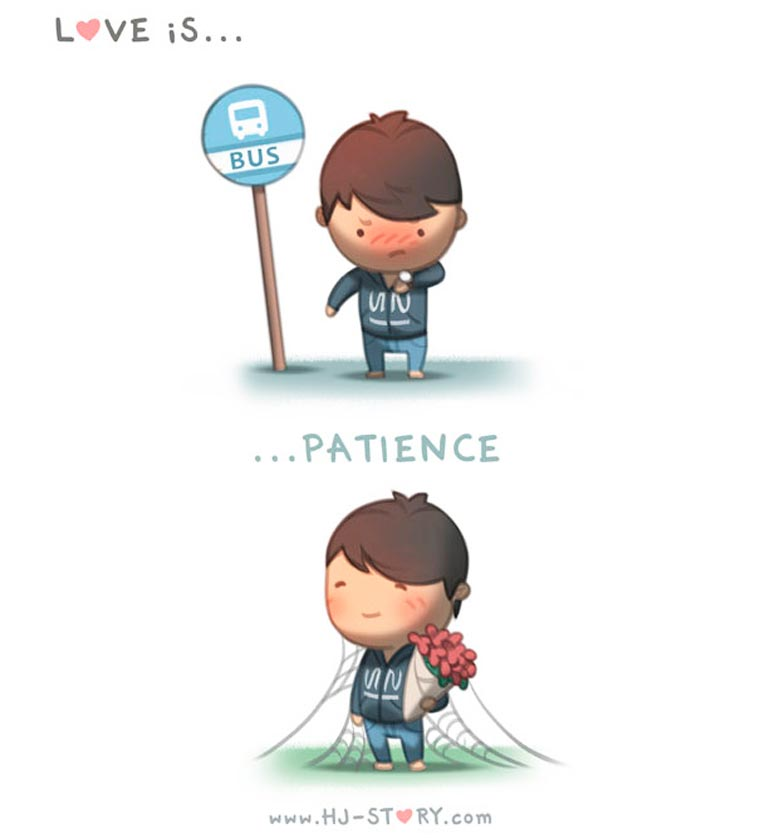 Love Story - A husband shows his love with adorable illustrations