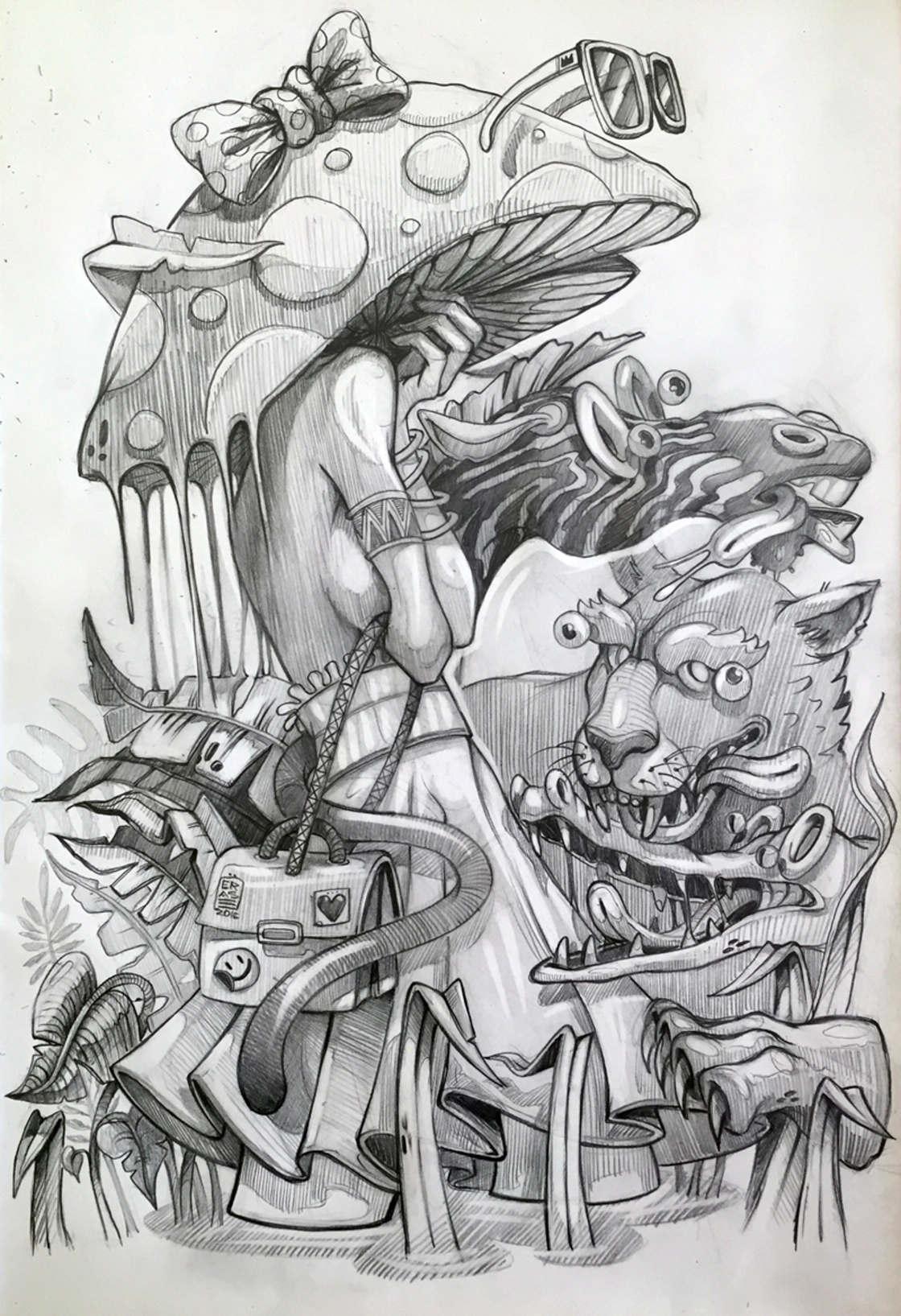 Les nouvelles illustrations d'ERASE (19 pics)