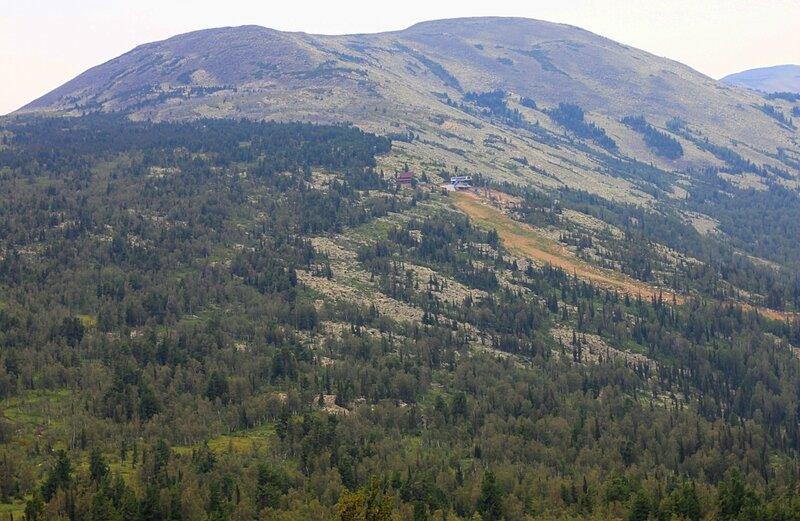 Россия, Шерегеш - гора Мустаг (Russia, Sheregesh - Mount Muztagh)