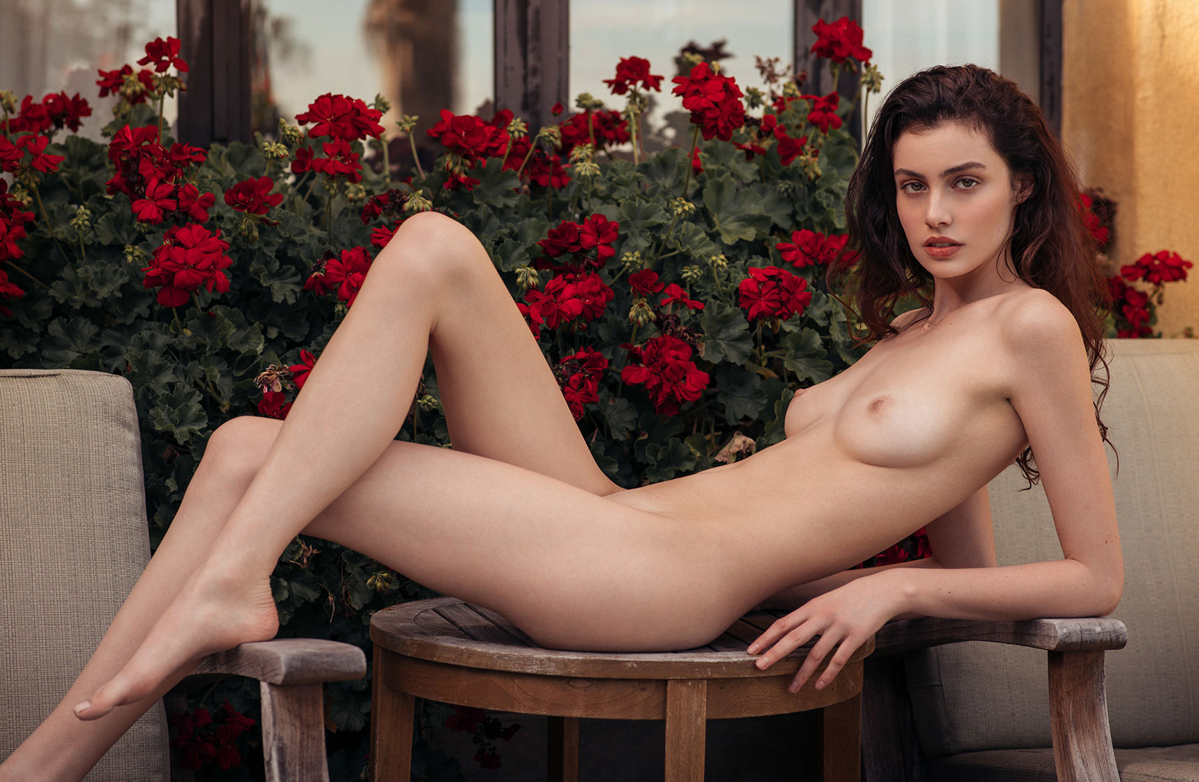 обнаженная модель Сера Манн / Sera Mann nude by Christopher von Steinbach - Playboy USA may/june 2017