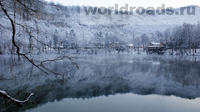 Голубое озеро Кабардино-Балкария