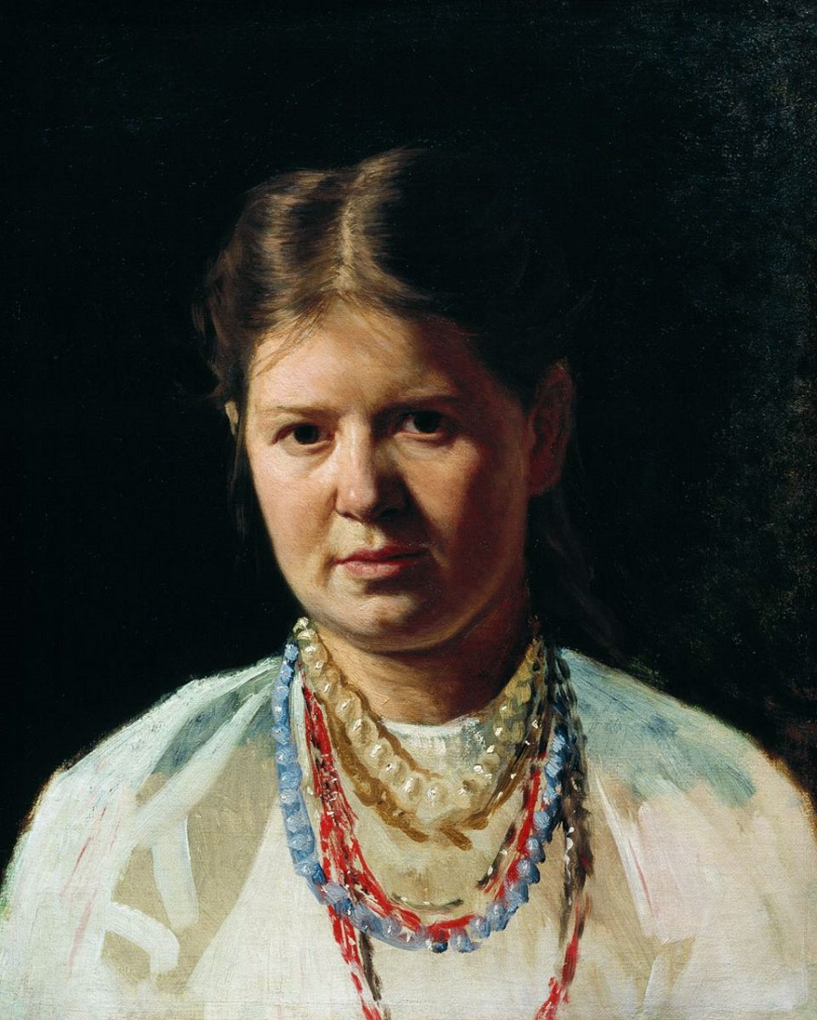 Украинка, 1870-е, музей-усадьба художника, Кисловодск.jpg