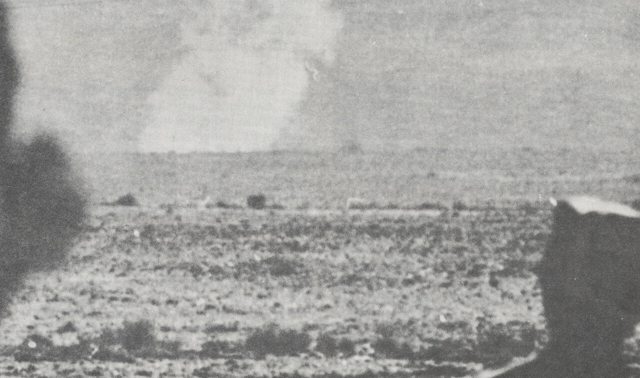 Синайская пустыня во время арабо-израильской войны