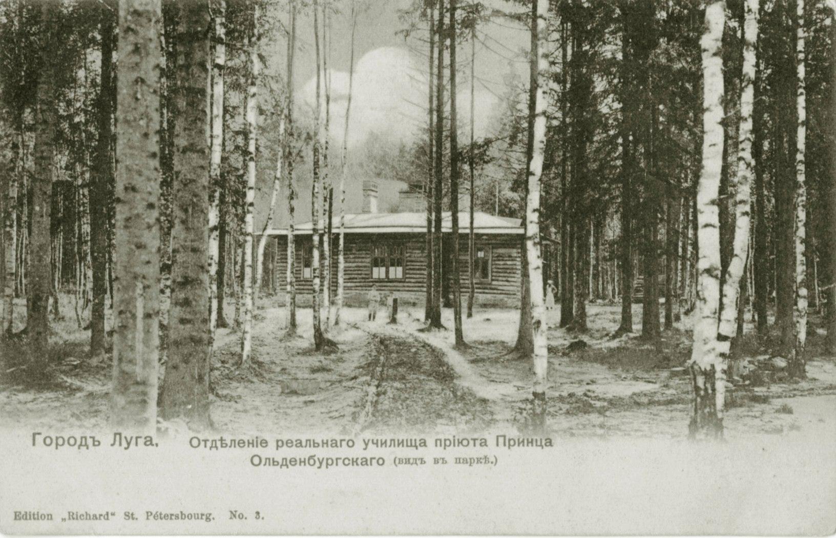 Парк приюта принца Ольденбургского
