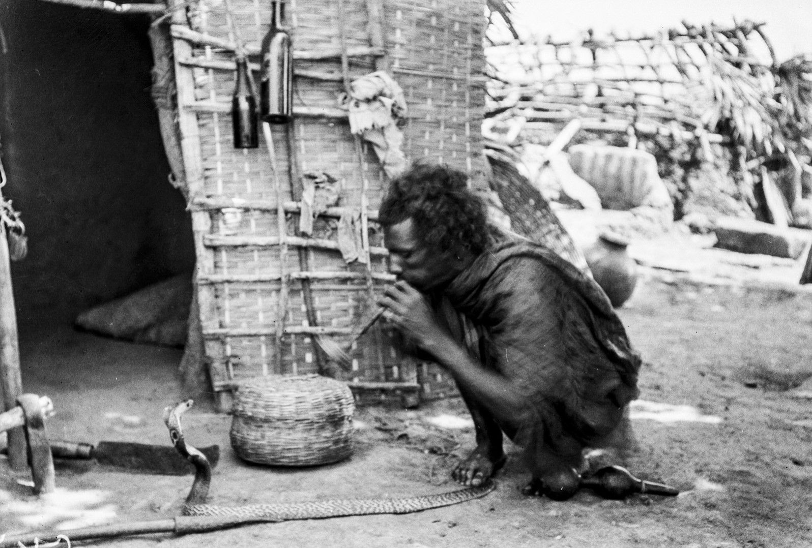 476. Мадрас. Заклинатель змей из касты корава