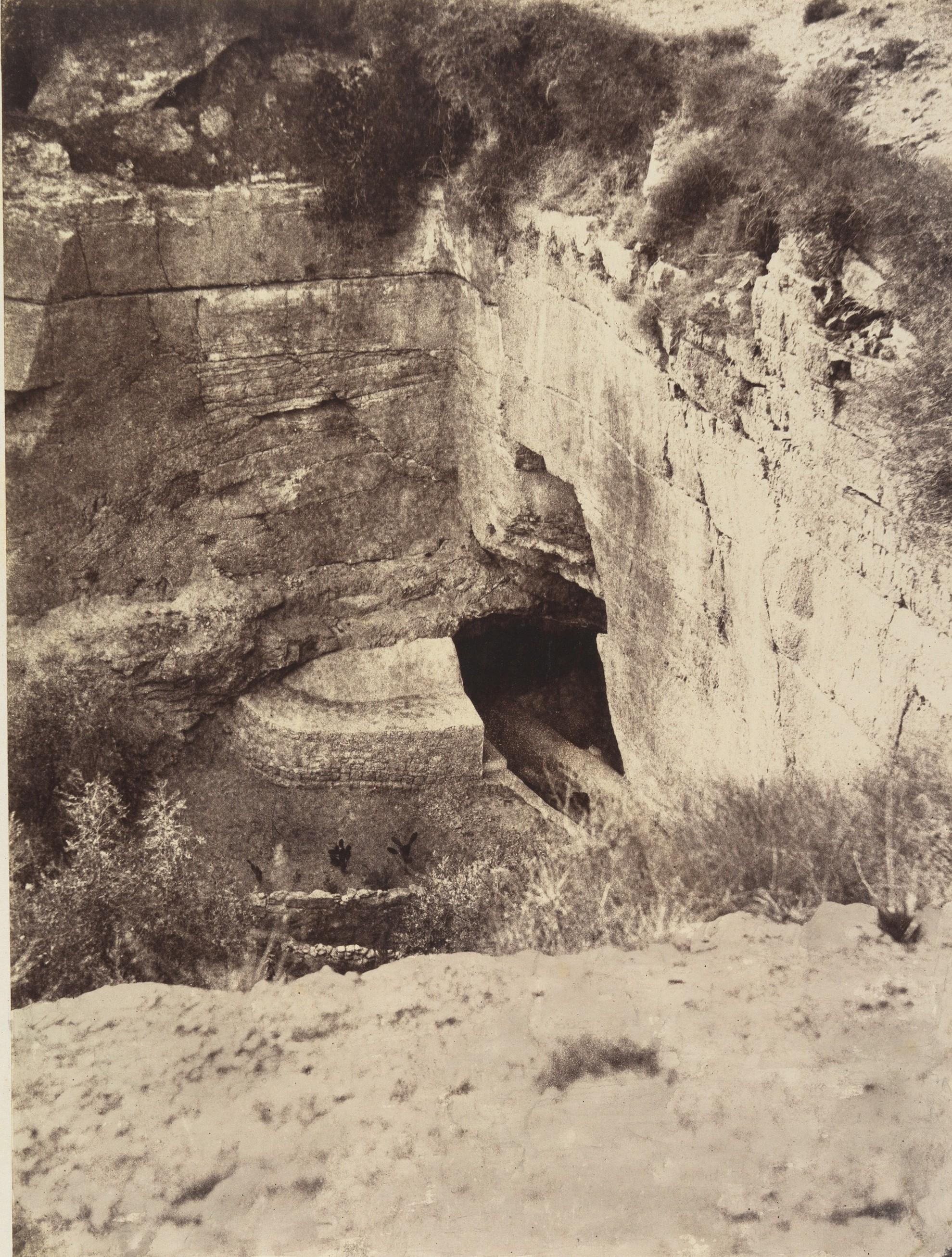 Окрестности Иерусалима. Пещера Иеремии