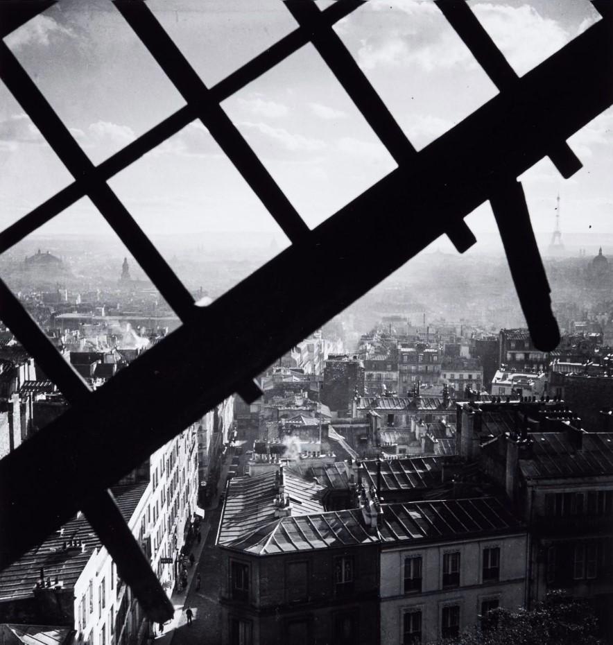 1938. Монмартр от «Мулен де ла Галетт»