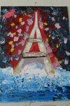 Емельянова Екатерина (рук. Игнатьева Ольга Ивановна) - Мечты о Париже