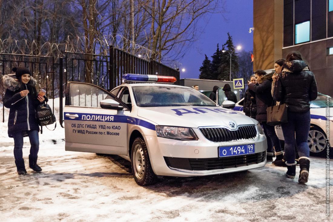 На мероприятии присутствовали заместитель начальника увд по юао полковник полиции дмитрий баранов