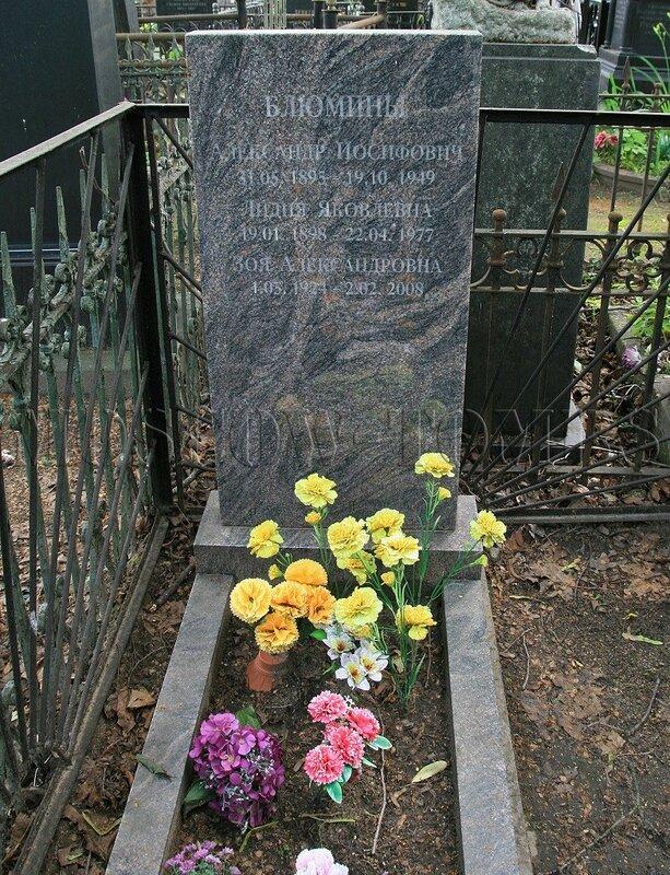 Блюмина Зоя Александровна (1924-2008)