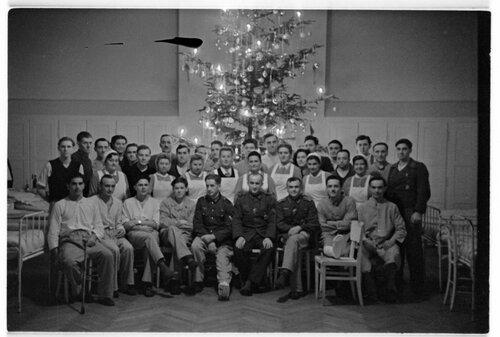 Weihnachtsfeier Reservelazarett