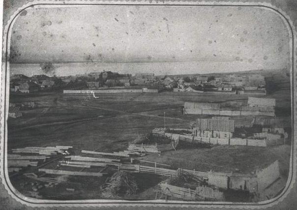 Самый первый известный снимок города (88 городов бывшего СССР)
