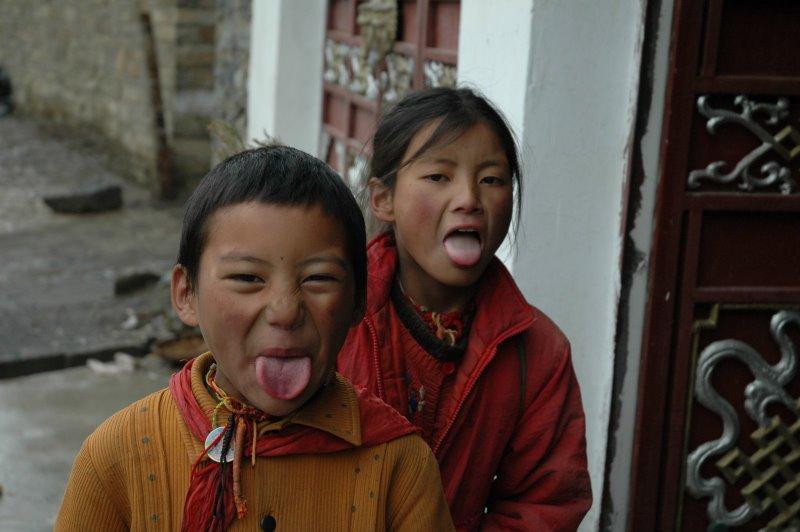 тибет приветствия