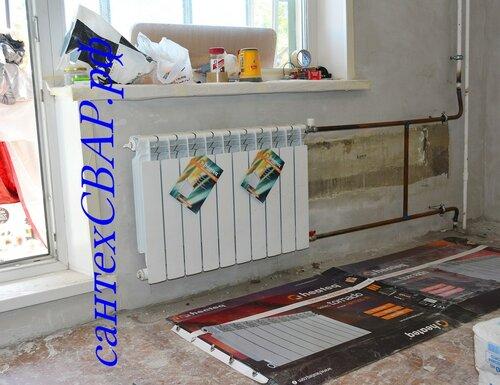 Замена радиаторов отопления. флудильня у копченного! :: сибм.