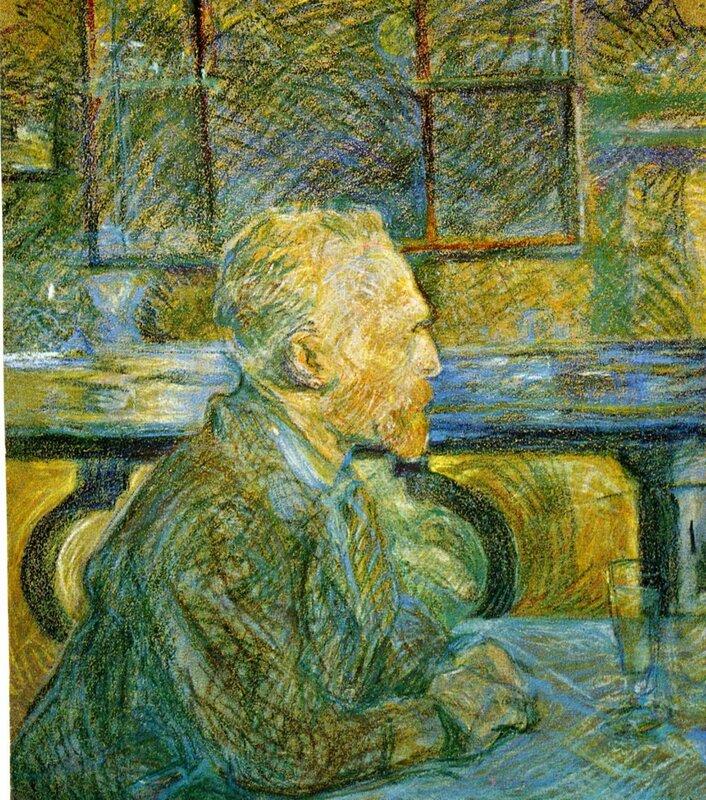 Анри де Тулуз-Лотрек,Висент ван Гог, портрет