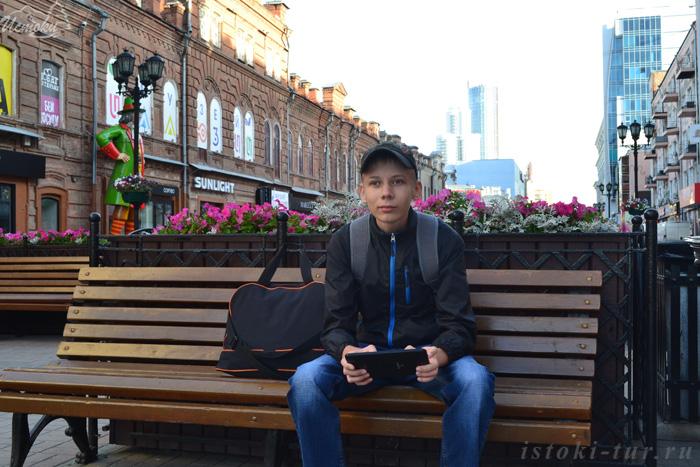 Новая старая улица Вайнера в Екатеринбурге