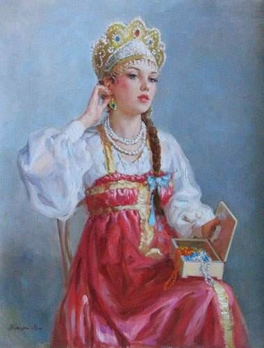 Российский художник Владислав Нагорнов