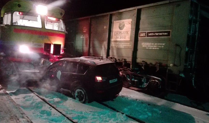 ВДарзини столкнулись два поезда иавтомобиль