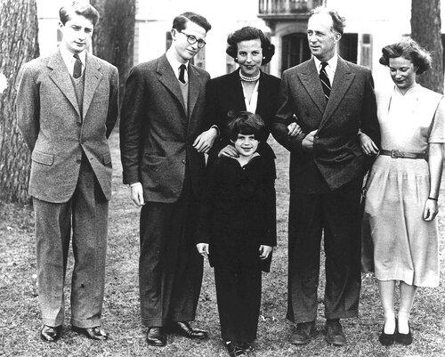 Семья. 1950 г.