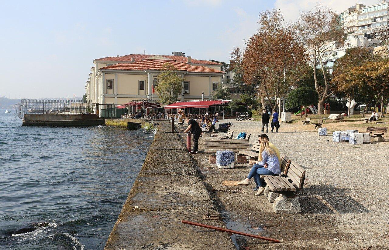 Стамбул. Парк Фындыклы (Fındıklı Parkı)