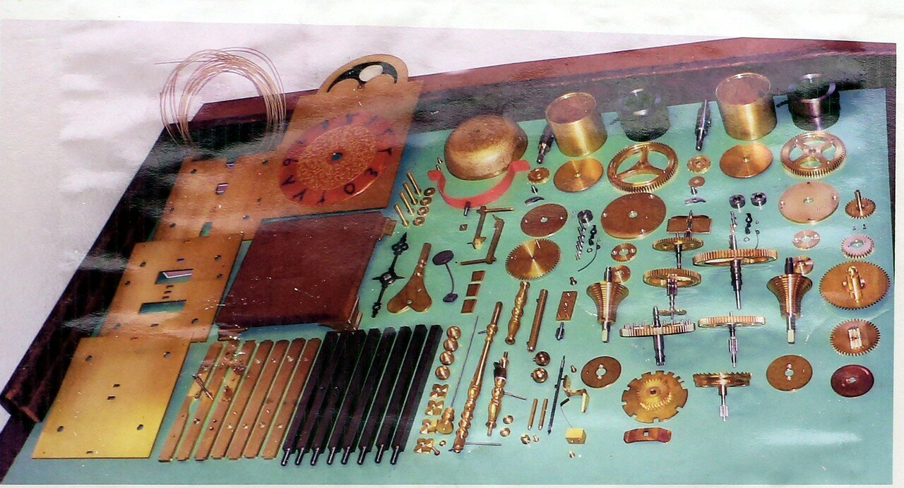 Стамбул. Музей истории исламской науки и техники. Часы