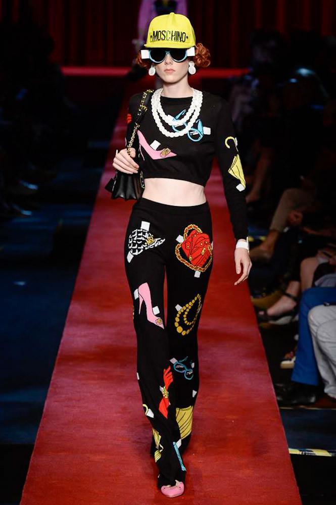 Неделя моды в Милане: Moschino весна 2017