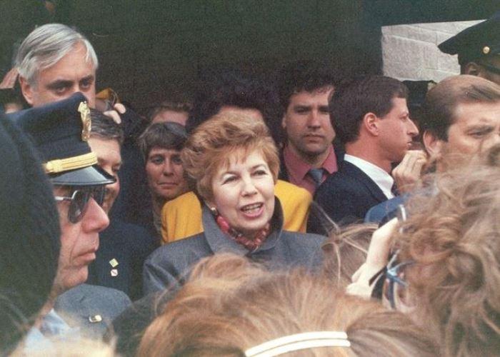 Раиса Горбачева в Миннеаполисе, 1991